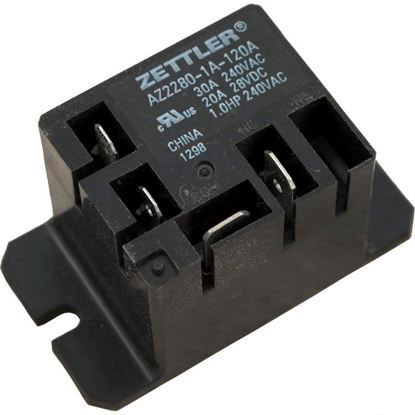 Picture of Power Relay, Zettler, SPST, 30A, 115v, Mini, Z2280-1A-120A