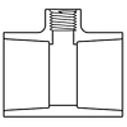 Picture of 1-1/4x1-1/4 X 1/2 Sst Tee 25/Cs Pv402141405