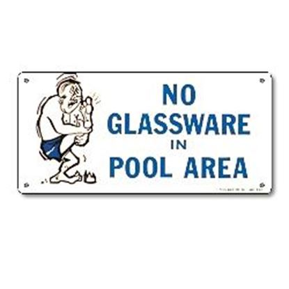Picture of SIGN - NO GLASSWARE PM41332