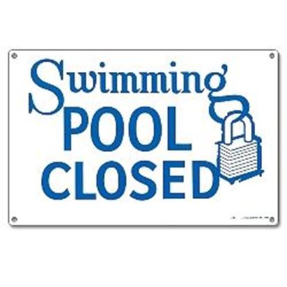 Picture of Sign - Swimming Pool Closed Pm40333